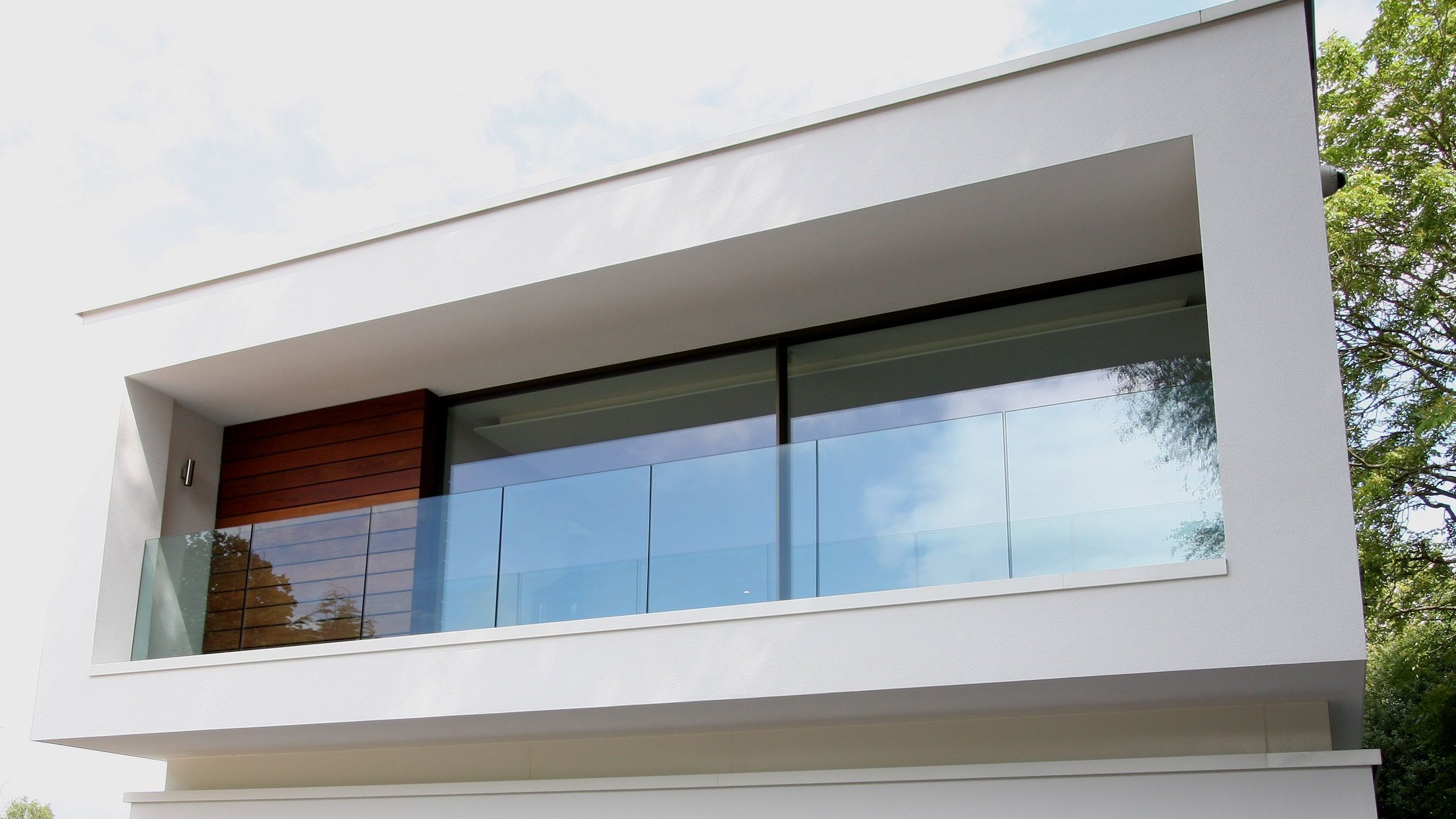 Full glass balustrade